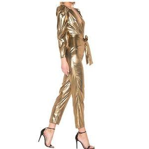 LPA Aurelia Gold Jumpsuit